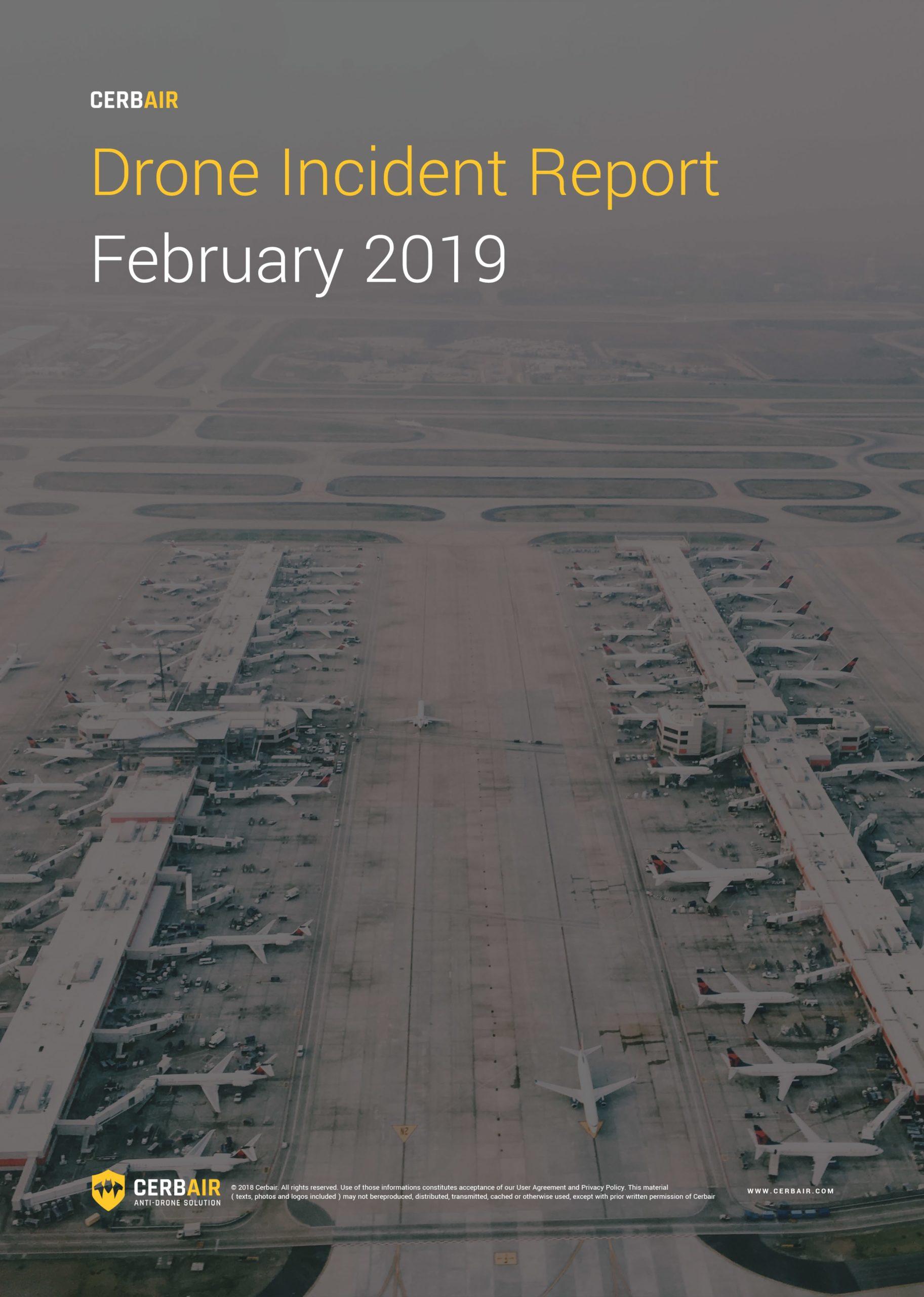Drone Incident Report – FEB19