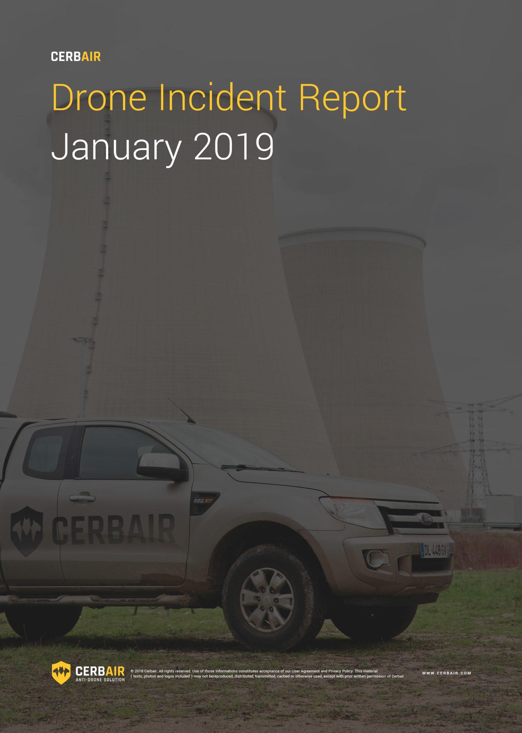 Drone Incident Report – JAN19