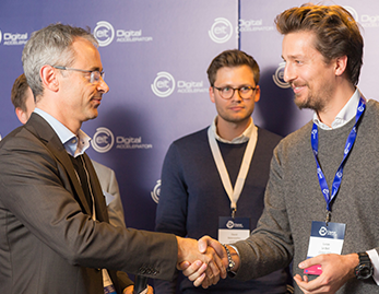 "Press Release: CerbAir awarded at EIT Digital Challenge for being one of the ""scaleups"" who will change Europe."