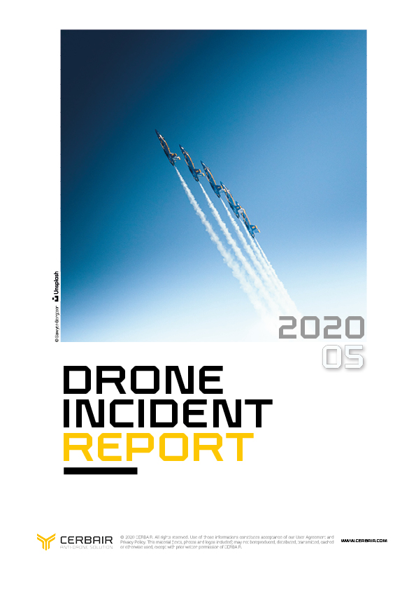 Drone Incident Report – MAY20