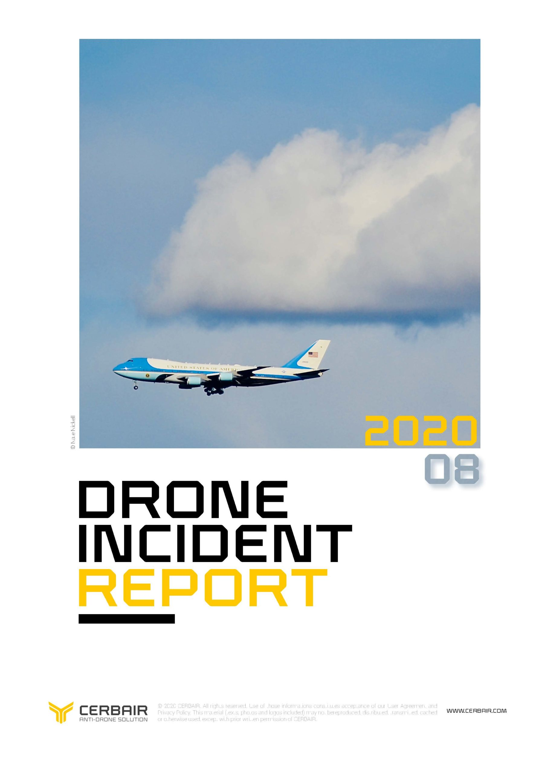 Drone Incident Report – AUG20