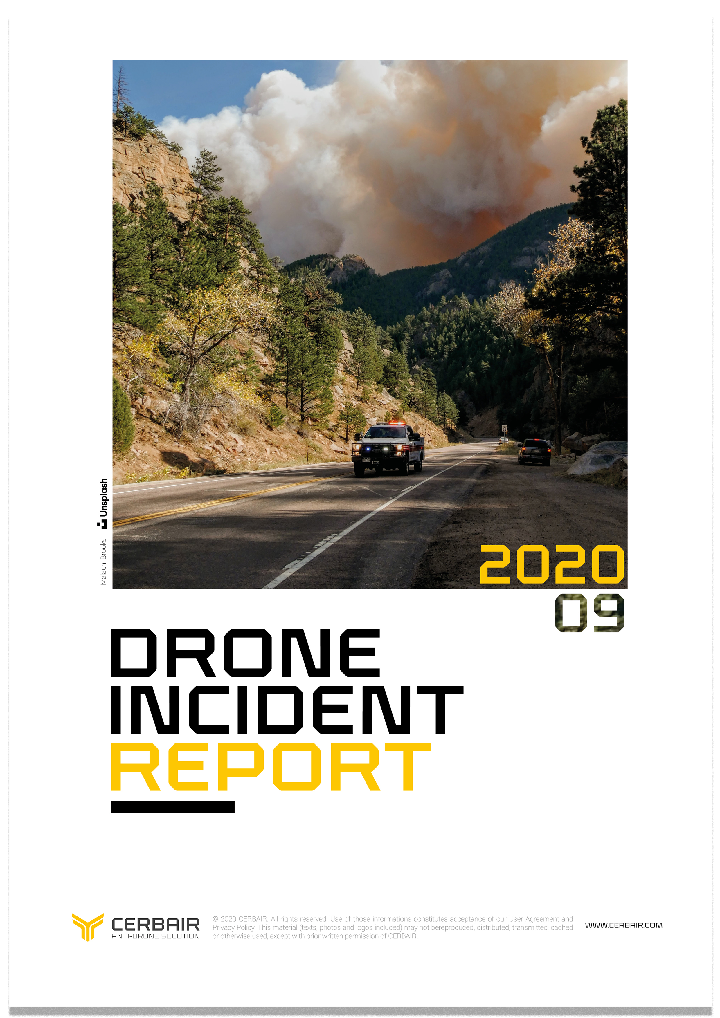 Drone Incident Report – SEP20