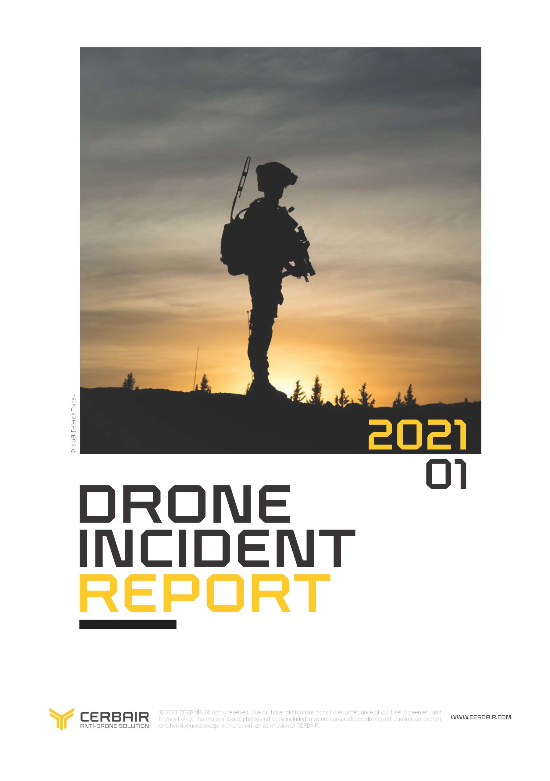 Drone Incident Report – JAN21
