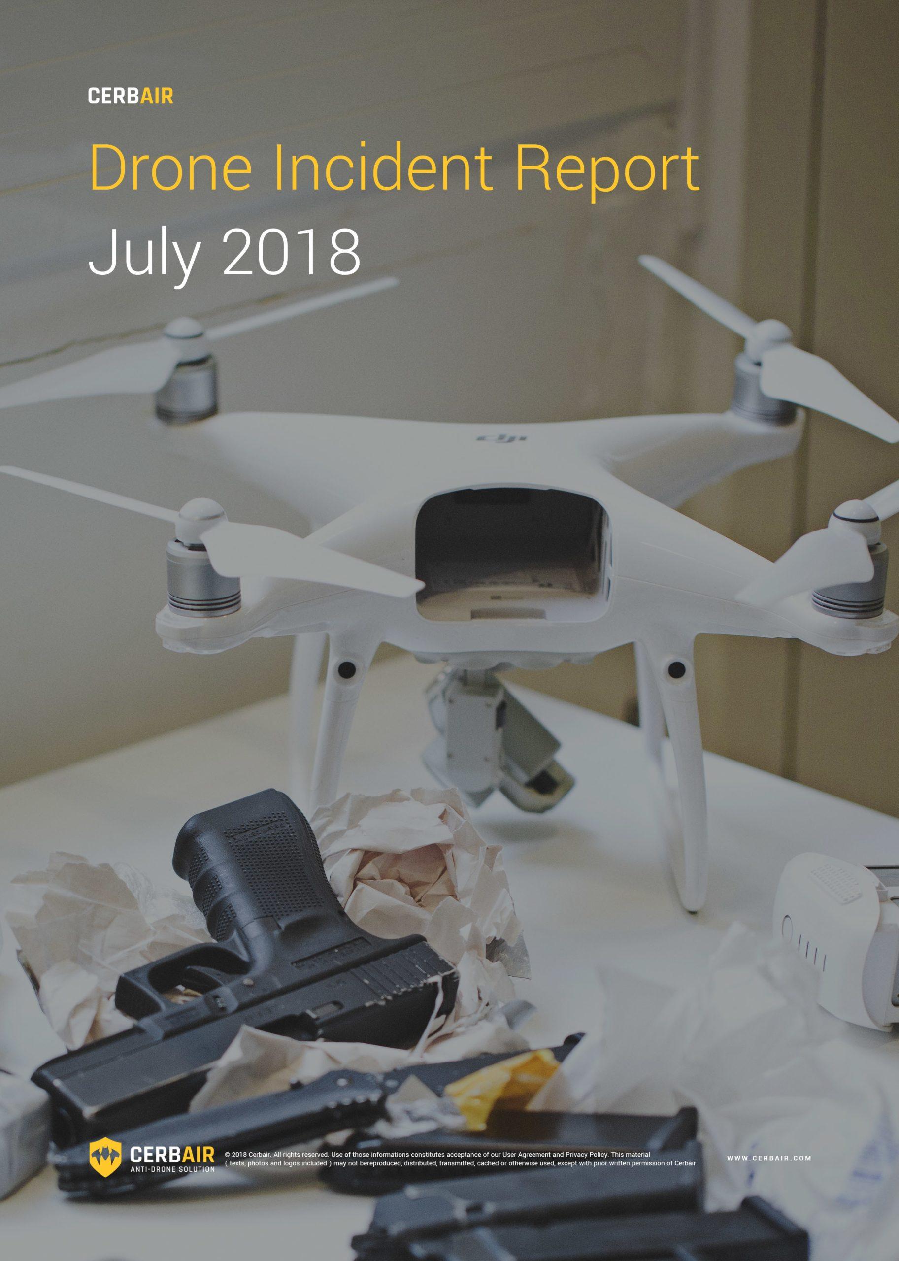 Drone Incident Report – JUL18