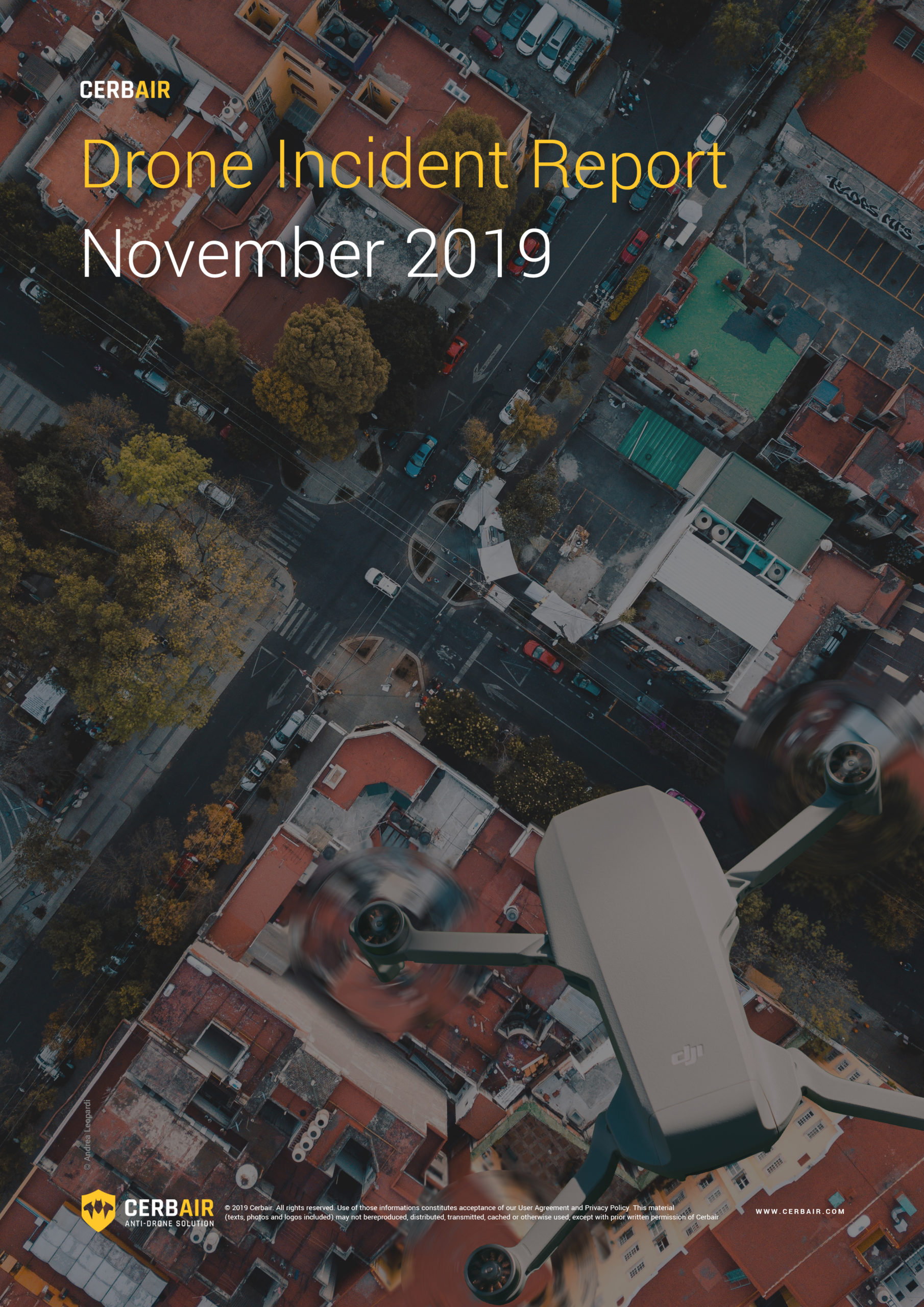 Drone Incident Report – NOV19